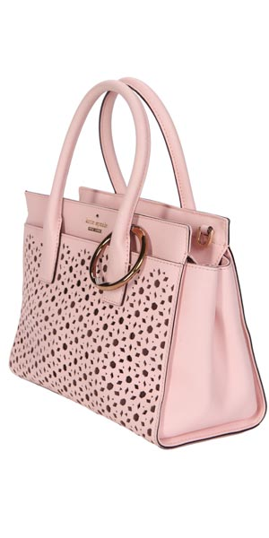 Clipa2 casino accessory on pink medium tote