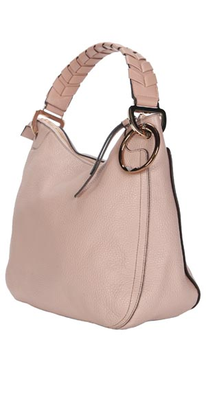 cream carryall for fall, carry-on bag with purse hook