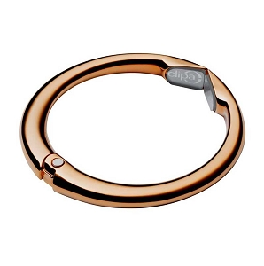Clipa2 Polished Copper/Rose Gold Bag Hanger